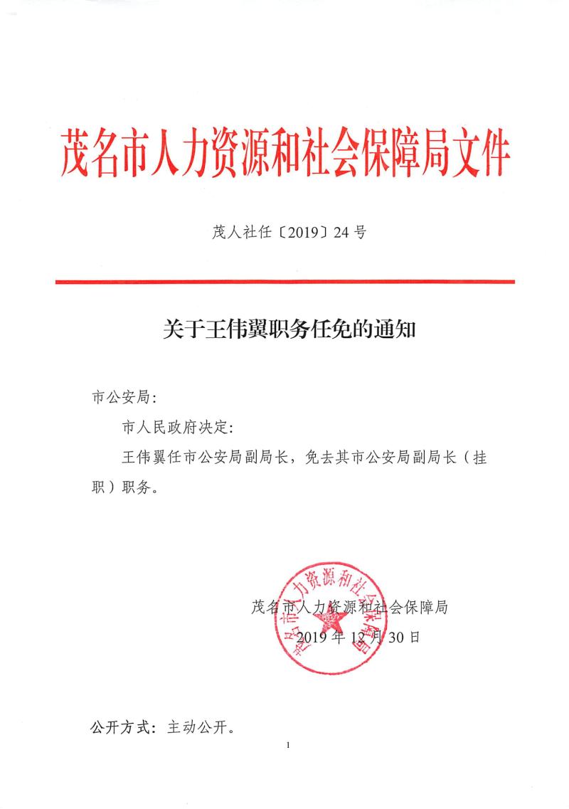 24关于王伟翼职务任免的通知(茂人社任〔2019〕24号)-1.jpg